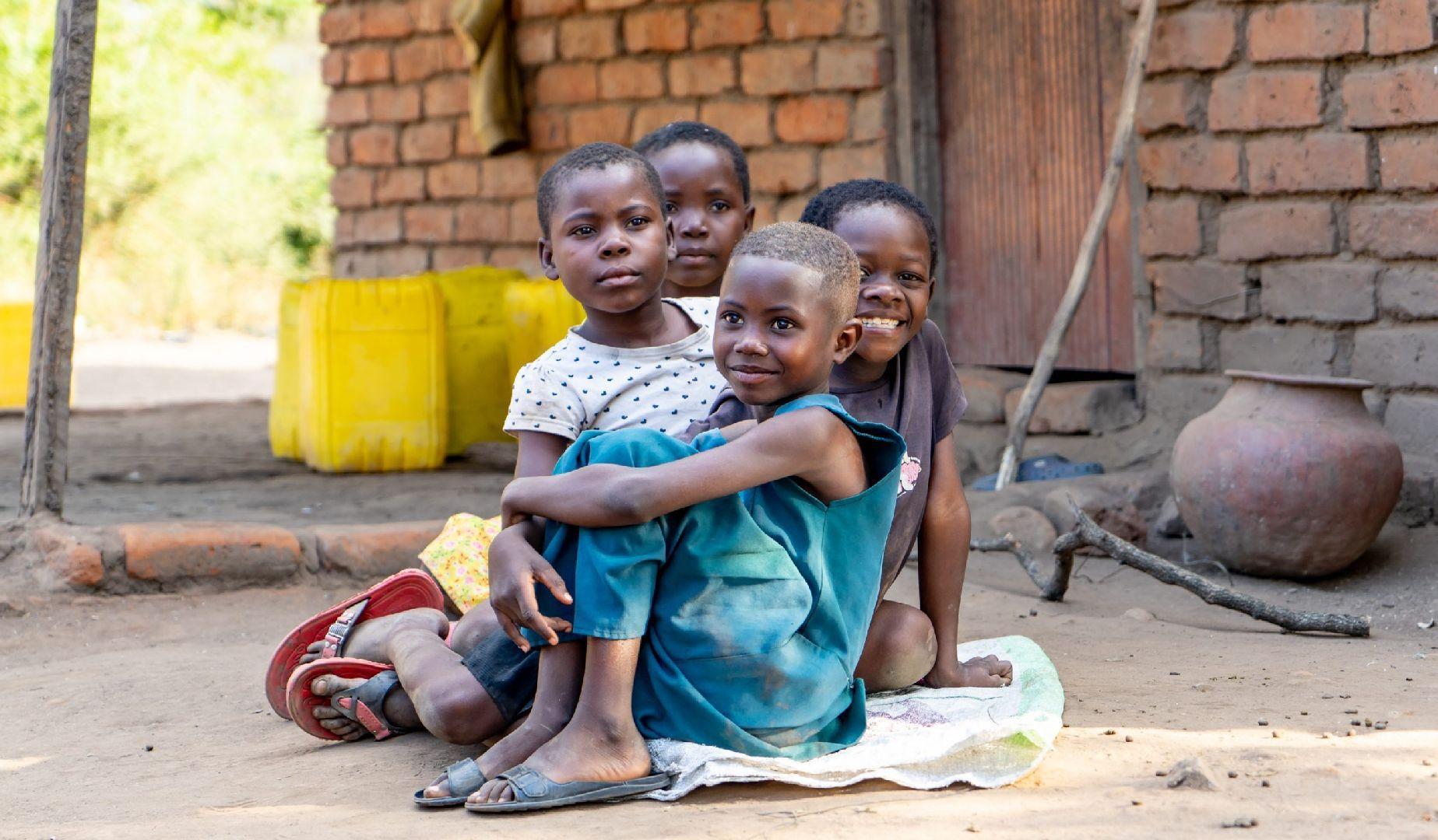 Malawi kinderen op straat