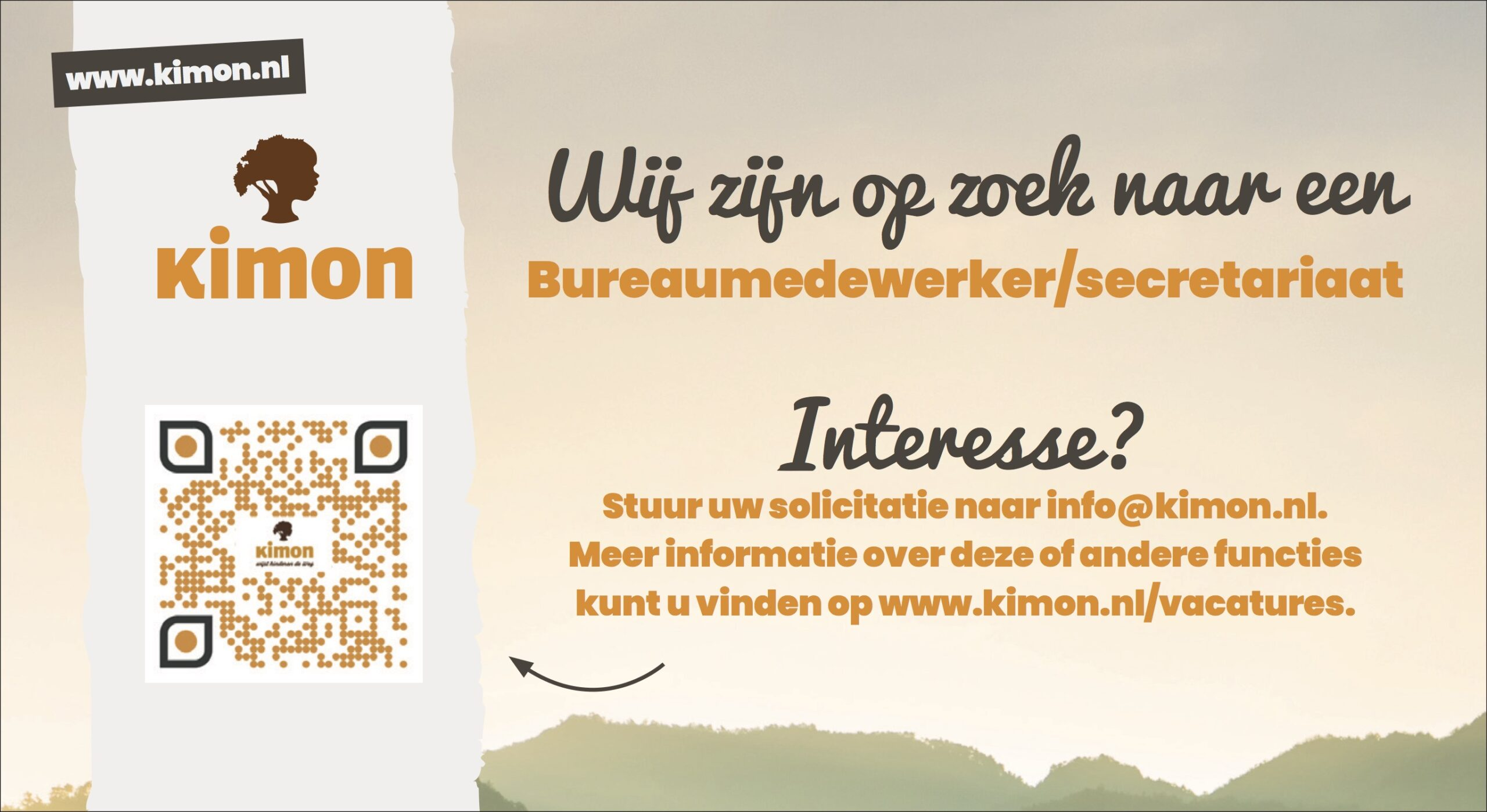 Vacature Bureaumedewerker Secretariaat Stichting
